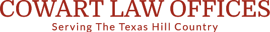 Tim Cowart Law Office Llano & Marble Falls TX